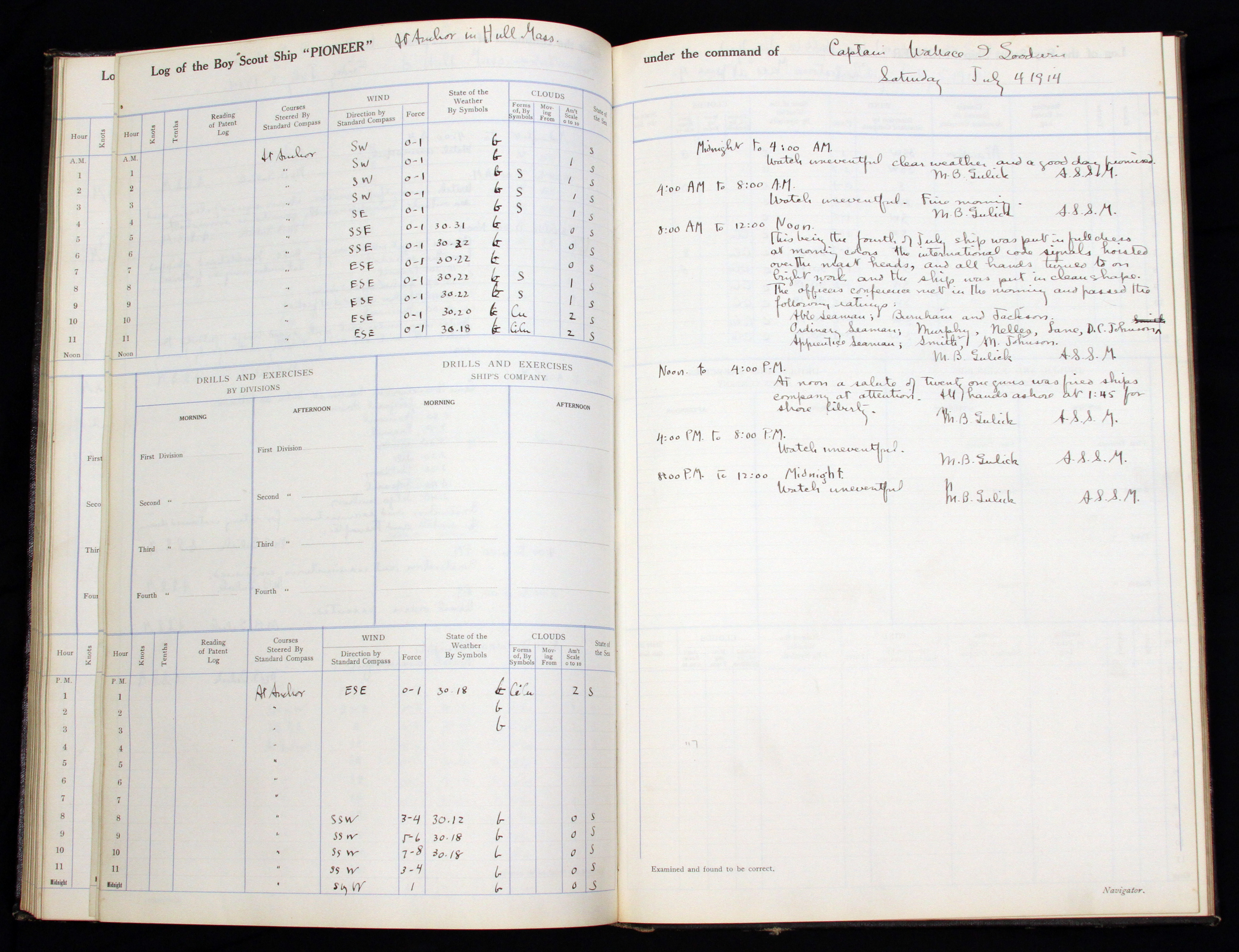Scout Log Book